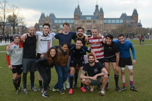 Amsterdam Cobras Training Session